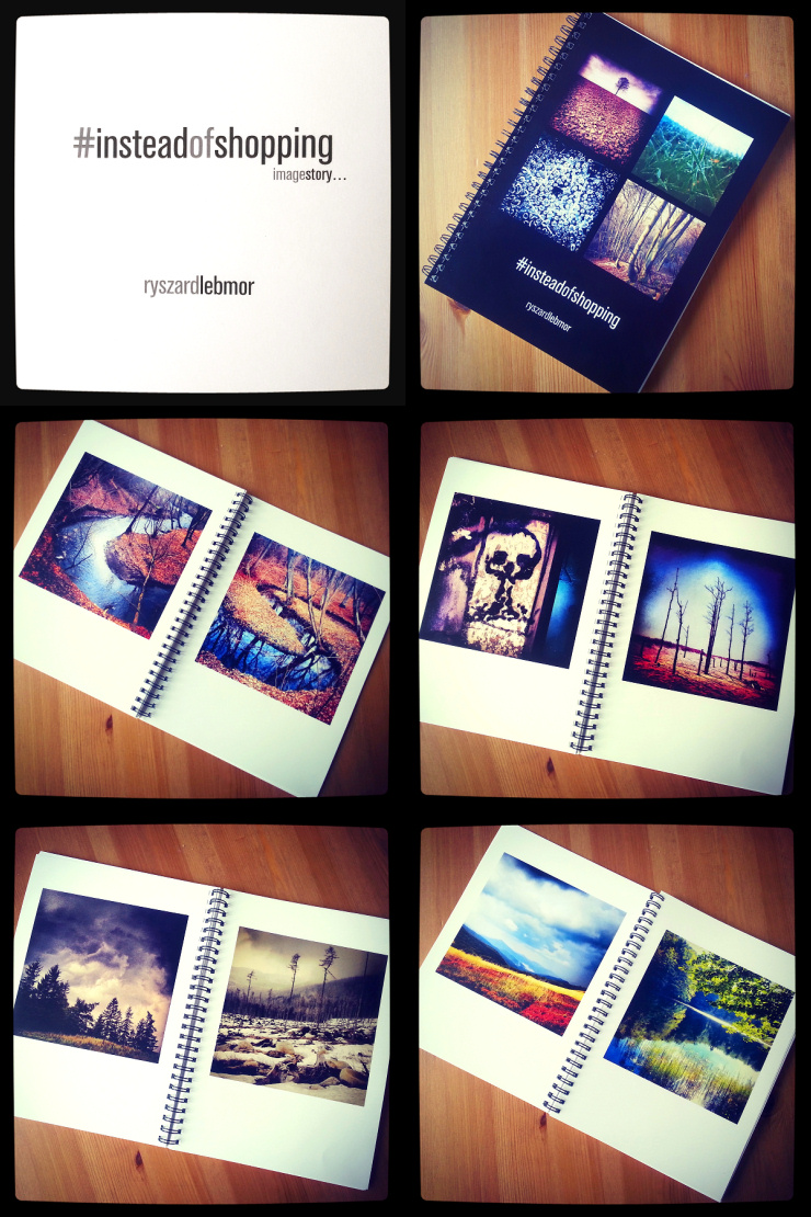 Album fotograficzny #insteadofshopping