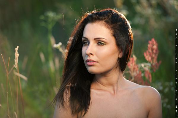 Portret, piękna kobieta