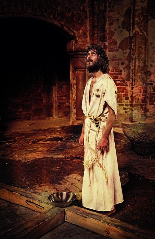 Stacja I - Jezus skazany na śmierć.
