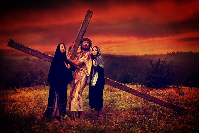 Stacja IV - Jezus spotyka Matkę swoją