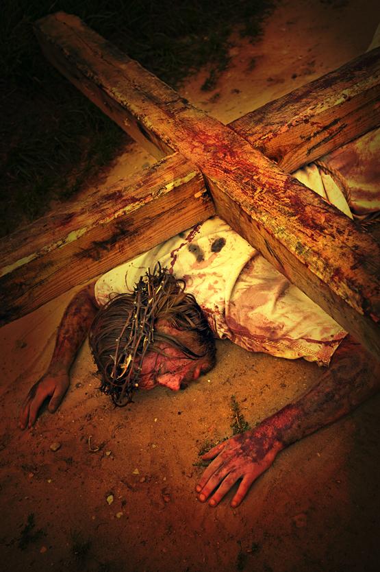 Stacja VII - Jezus upada po raz drugi