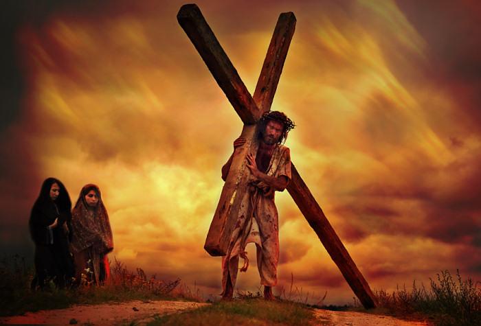 Stacja VIII - Jezus pociesza płaczące niewiasty