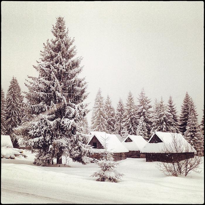 Zimowa pocztówka z gór