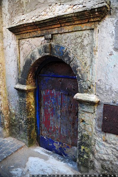 Stare drzwi w Maroko