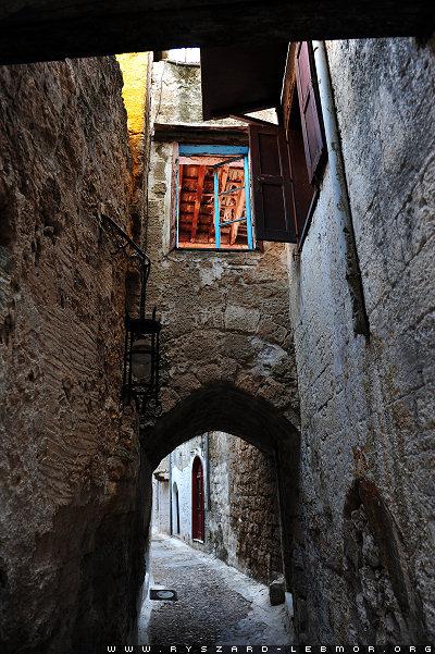 Rodos Grecja, stare miasto