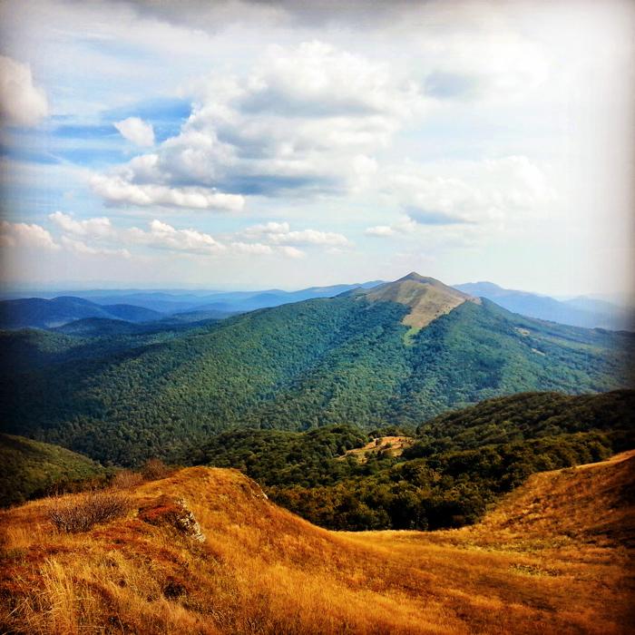 Bieszczady - zdjęcia gór
