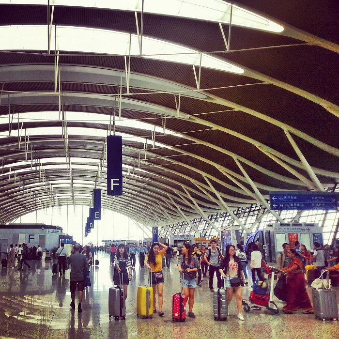 Lotnisko w Szanghaju, Pudong
