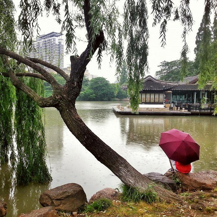 Pora deszczowa w Chinach