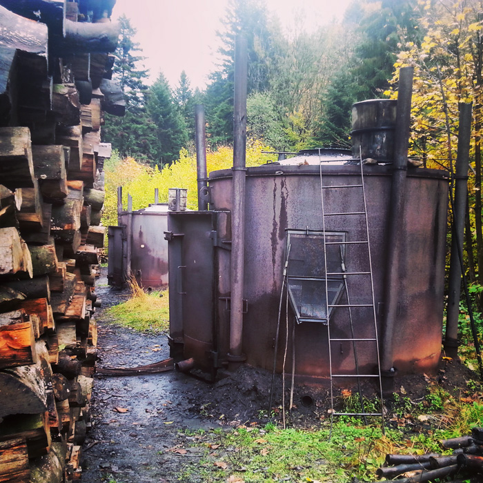Charcoal Burners in the valley