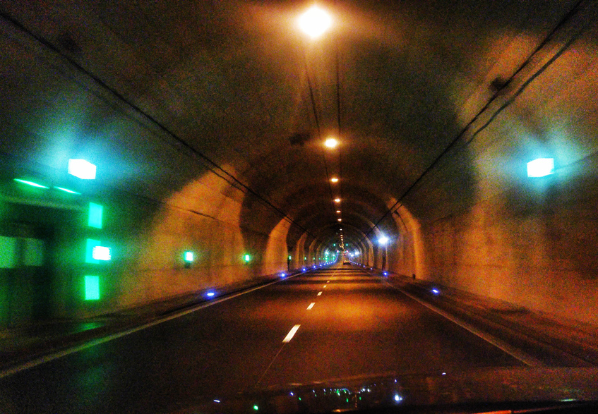 Gdańsk, tunnel
