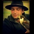 Sokolnik z ptakiem :-)